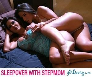 Girlsway.com | Step Mom and Daughter Lesbian Porno